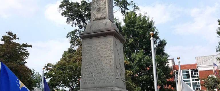 Update on McDonough Confederate Monument