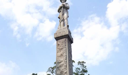 Georgia Minutemen Defend Confederate Monument